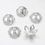 Железный шарик крышки, серебристый цвет, 18 мм X 8 мм, Отверстие : 2 мм ; около 20 шт / 10 г