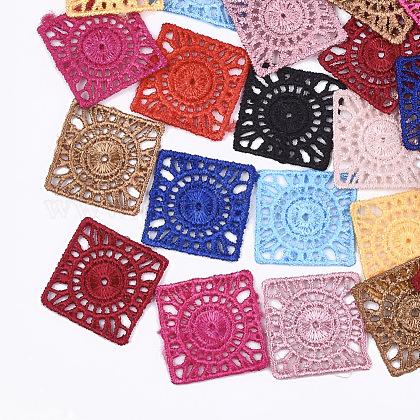 Decoraciones colgantes tejidas de polialgodón (algodón poliéster)FIND-Q078-02-1