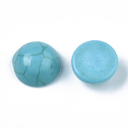 Cabuchones de turquesa sintéticaTURQ-S291-03B-01-1