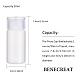 30ml peプラスチック製の空の詰め替え可能なフリップキャップボトルMRMJ-WH0037-13B-2