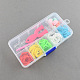 DIY Colorful Loom Bands Box with Rubber Bands and AccessoriesDIY-R009-05-3