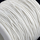Cordones de hilo de algodón encerado ambientalYC-R008-1.0mm-101-2