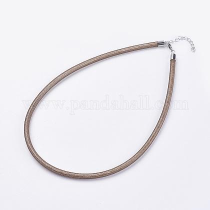 Пластиковые ожерельяNJEW-F199-B07-1