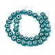 Chapelets de perles vernissées manuellesLAMP-S191-02C-06-1