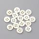 4-Hole Freshwater Shell ButtonsBUTT-S020-22-11.5mm-1