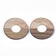 Colgantes de resina y madera de nogalRESI-S358-50-1