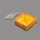Boîtes à bijoux en plastiqueOBOX-G007-02-2