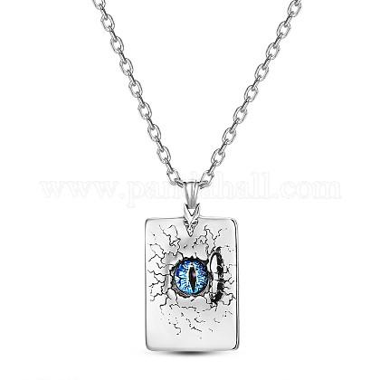 Collares pendientes de acero titanio shegrace®JN967A-1