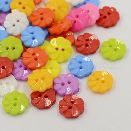 Botones de acrílicoX-BUTT-E007-A-M-1