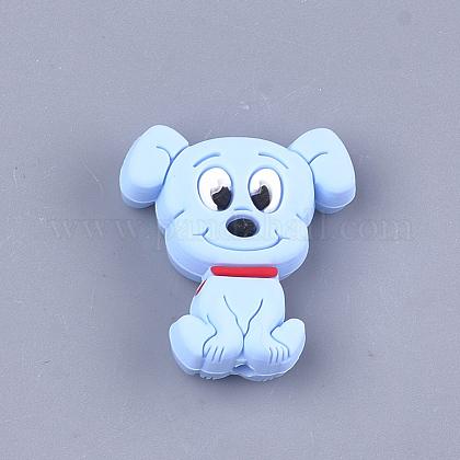 食品グレードの環境シリコーン子犬ビーズSIL-T052-01E-1