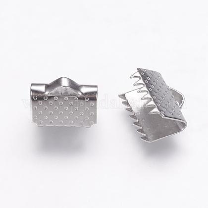 ステンレス鋼リボンカシメエンドパーツSTAS-P160-01P-1