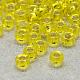 Perles de rocaille en verre transparent fgb® 6/0SEED-Q007-4mm-F35-1