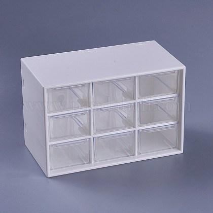 Plastic Cosmetic Storage Display BoxAJEW-WH0096-62-1
