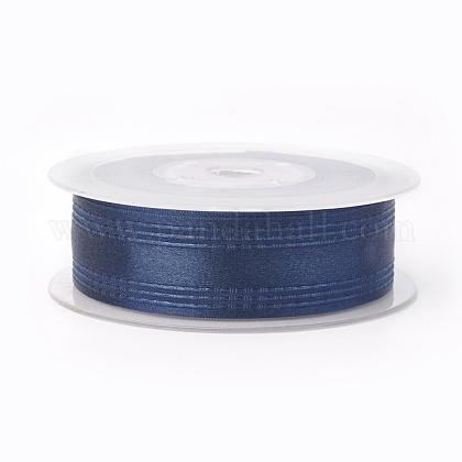 Ruban satin polyester simple faceSRIB-L041-15mm-A013-1