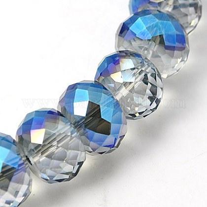 Abalorios de vidrio electrochapadoEGLA-E005-05-1