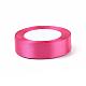 Fuchsia Satin Ribbon Wedding Party DecorationX-RC25mmY028-2