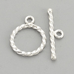 T clasps 15mmx11mm20mmx6mm silver clasps bracelets Lot of 10 clasps silver metal for necklaces T22 toggle clasps