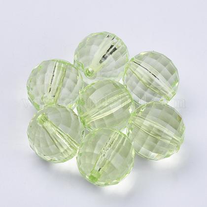 Transparent Acrylic BeadsTACR-Q254-30mm-V32-1