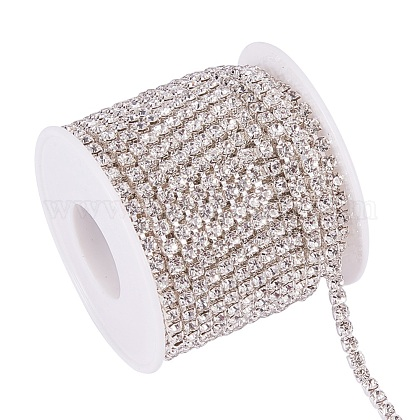 Cadenas de strass Diamante de imitación de bronceCHC-T001-SS16-01S-1