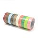 Single Face Pattern Printed Cotton & Hemp RibbonsOCOR-R070-04-1.5cm-1