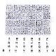 Abalorios acrílicos opacosSACR-X0015-09-1