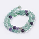 Natural Fluorite Beads StrandsG-E468-F01-10mm-2