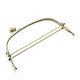 Iron Purse Frame Handle for Bag Sewing Craft Tailor SewerFIND-T008-063AB-1