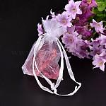 Organza Gift Bags, Lavender, 7x5x0.2cm