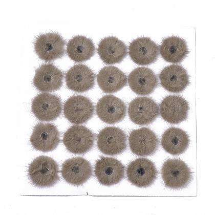 Faux Mink Fur Ball DecorationFIND-S320-03E-1