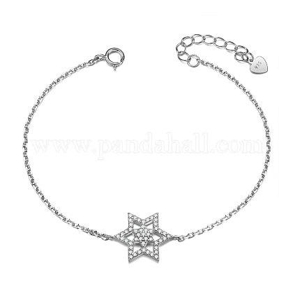 SHEGRACE® 925 Sterling Silver BraceletJB458A-1