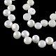 Hebras de perlas de agua dulce cultivadas naturalesPEAR-R013-01-1
