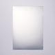 Etiqueta adhesiva para mascotas de plata mate en blanco a25 de 4 micras de espesorAJEW-WH0053-03-2
