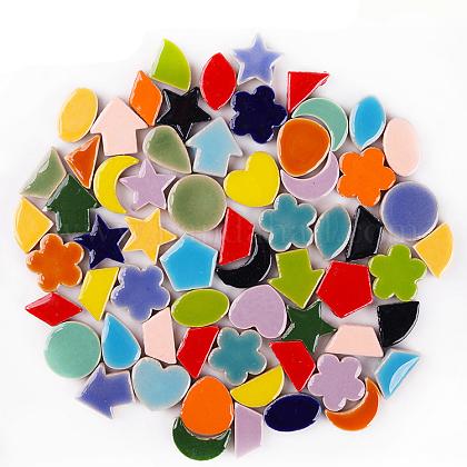 Cabuchones de porcelanaPORC-E014-08-1