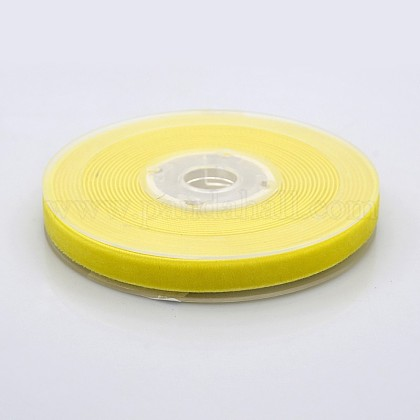 Ruban de velours en polyester pour emballage de cadeaux et décoration de festivalSRIB-M001-10mm-640-1