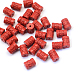 Column Cinnabar Beads CARL-Q003-05-1