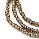 Glass Seed Beads Chain BeltsNJEW-C00007-02-3