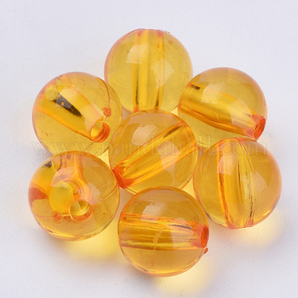 Transparent Acrylic Beads TACR-Q255-8mm-V24-1