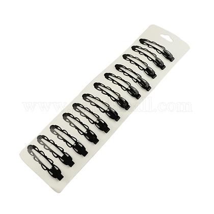 塗装鉄スナップヘアクリップパーツをスプレーPHAR-R089-01-1
