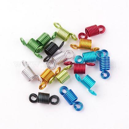 Puños de bobina de pelo de alambre de aluminioALUM-S012-M-1
