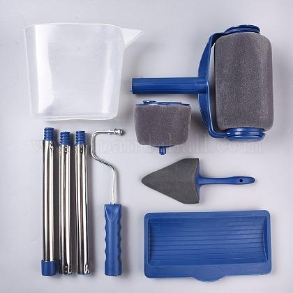 Kit de brocha de rodillo de pinturaX-AJEW-WH0109-77-1