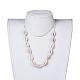 Adjustable Cowrie Shell Beads Lariat NecklacesX-NJEW-JN02394-5