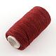 Cordones de hilo de coser de poliéster 402 para tela o diy artesanalOCOR-R028-A03-3