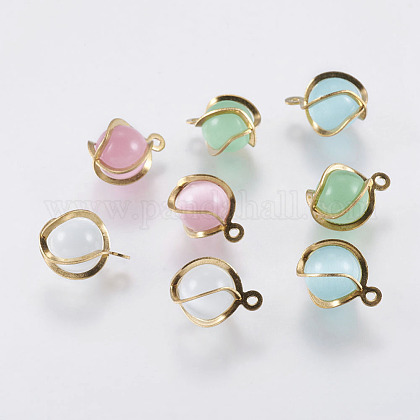 Cat Eye Charms G-E463-01-1