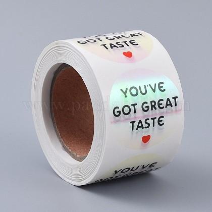 Tienes buen gusto pegatinasDIY-L035-004B-1