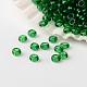 Perles de verre rondes en verre fgb® 12/0 couleurs transparentesSEED-A022-F12-22B-1
