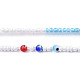 Glass Seed Beads Chain BeltsNJEW-C00011-4