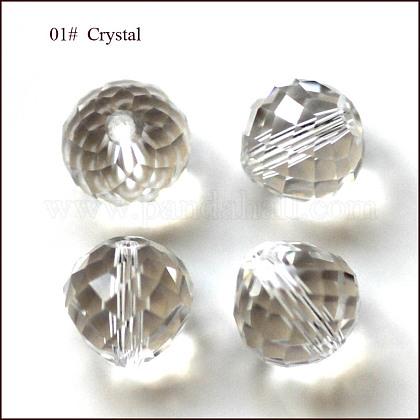 Imitation Austrian Crystal BeadsSWAR-F067-10mm-01-1