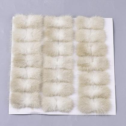 Faux Mink Fur Rectangle DecorationFIND-S320-01A-12-1