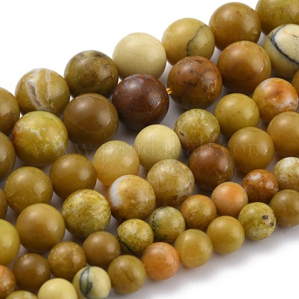 Perles d'opale jaune naturelleG-P446-02B-1