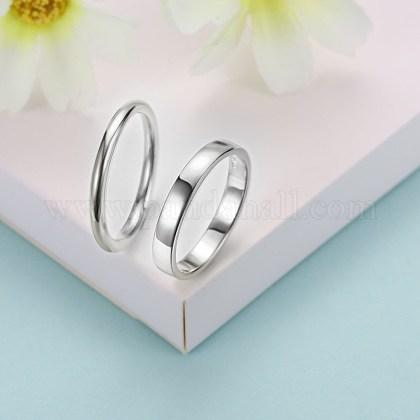 Trendy Sterling Silver Finger RingsRJEW-BB29185-A-9-1